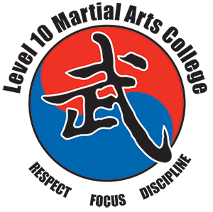 Level 10 Martial Arts College Logo